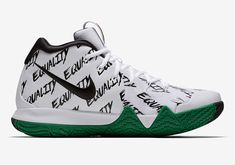 Buy and sell authentic Nike Kyrie 4 Equality Black History Month shoes 900 and thousands of other Nike sneakers with price data and release dates. Hypebeast, Yeezy, Adidas, Nike Air Max, Basket Pas Cher, Baskets, Popular Sneakers, Basket Ball, Nike Kyrie