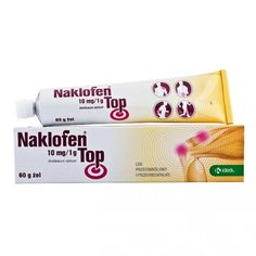 NAKLOFEN TOP gel 60g Lower Back Pain Relief, Low Back Pain, Shoulder Joint, Post Traumatic, Top, Crop Shirt, Blouses