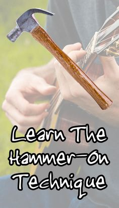 The hammer-on is usually one of the first techniques an 'ukulele player will learn to incorporate into their lead playing. It's an upwards transition betwe Cool Ukulele, Ukulele Chords, Ukulele Tabs, Ukulele Songs, Les Paul, Violin Lessons, Learn To Play Guitar, Guitar Tips, Classical Guitar