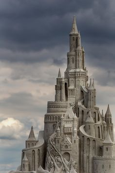 outdoormagic: fairy tale sandcastle by Jan Roskamp Fantasy Life, Fantasy Castle, Fairytale Castle, Fantasy World, Fantasy Art, Beautiful Castles, Beautiful Buildings, Monuments, Fantasy Places