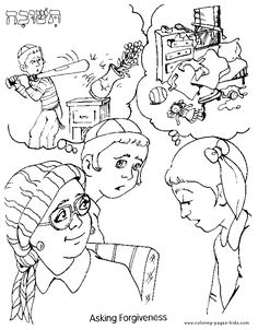 LDS Primary Coloring Pages | forgiving others Colouring Pages #lds ...