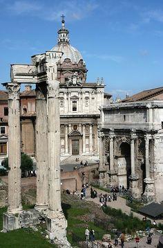 Roman Forum - Rome, Italy