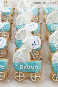 galletas bautizo bruno