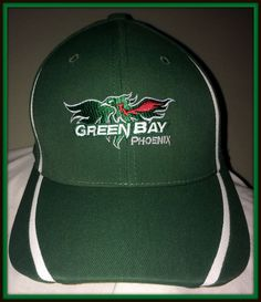 WISCONSIN GREEN BAY PHOENIX PORT AUTHORITY ADULT SMALL/MEDIUM FLEX FIT CAP #PortAuthority #GreenBayPhoenix