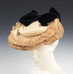 Date: ca. 1898 Culture: probably French Medium: silk, metal, rhinestones Dimensions: 10 x 13 in. (25.4 x 33 cm)