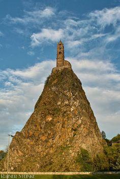 Le Puy-en-Velay - Saint-Michel d'Aiguilhe (F) - Kult-Urzeit   Mystische Orte