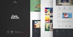 Download and review of Litte - Multipurpose WordPress Theme, one of the best Themeforest Creatives themes