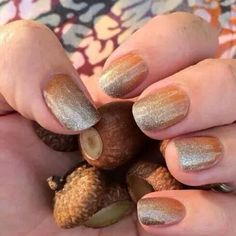 Pumpkin spice nails!!  #pumpkinspice #fall #nails #jamberry   http://stepjams.jamberrynails.net/product/october-sisters-style#.VD8psni9LCR