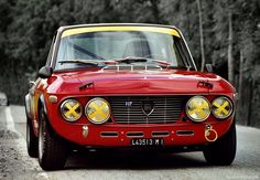 Lancia Fulvia Awsome car I once test drove, they cost a lot more than a Jag from new