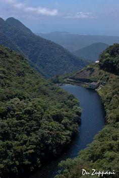Revelando Bertioga!!    Rio Itatinga com a visão através do Parque das Neblinas.  BRASIL