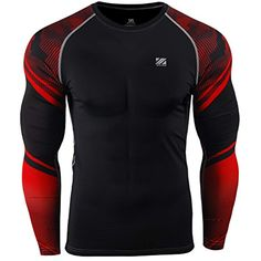 209e5ed626bd zipravs MMA Compression Tight Shirt Longsleeve Running Baselayer at Amazon  Men s Clothing store