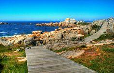 San Vicente beach en El Grove, Galicia