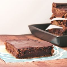 Ganache Brownies