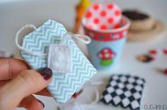 Anleitung Teebeutel nähen Kinderküche