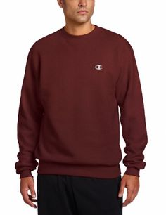 Champion Eco Fleece Crew is made of a super soft recycled fiber-This fleece crew is a winning combination