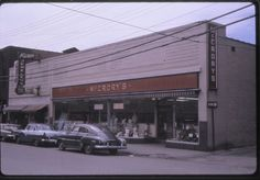McCrory's in Barnesboro, PA. I miss the way the town used to be!