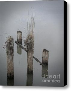 Limited Time Promotion: Forgotten Pier Stretched Canvas Print - 16x20 for $60