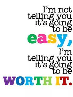 El esfuerzo siempre vale la pena