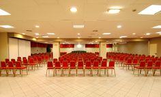 Sala Rododendro con capienza di 350 posti.