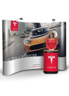3x4 Pop-Up Frame System Pop Up Frame, Tesla Roadster, Exhibition Display, Graphic Prints, Design, Expo Stand