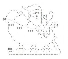 happy fathers day ascii art
