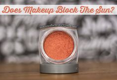 Wondering if makeup can help block the sun? Check this out  http://www.notanothercovergirl.com/does-makeup-block-the-sun/