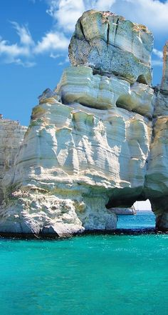 *GREECE ~ Milos is a volcanic Greek island in the Aegean Sea, just north of the Sea of Crete.