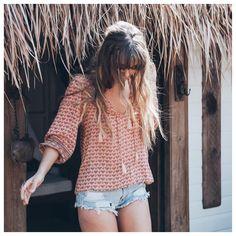 #bohemian #boho #blouse #summer #blusa #hippie #verano