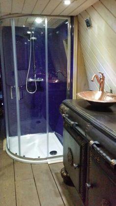 Narrowboat Amp Canal Boat Shower Enclosures Amp Bath Shower