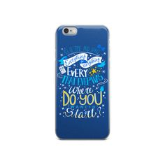 Doctor Who Blue IPhone 6 Case