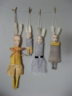 Cathy Cullis; strange but have possibility... photo printing on fabric for dolls...