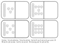 Kindergarten Teen Numbers Math Journals  *FREE*