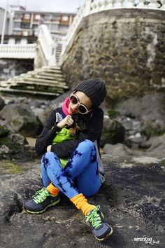 #colors #streetstyle #fashion @We Love Colors #NowIstyle #nike #sneakers #welovecolors #primark #leopardprint #dog #puppy