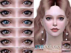 Eyecolors, 10 swatches, for all age, hope you like, thank you. Found in TSR Category 'Sims 4 Eye Colors' Sims 4 Cc Eyes, Sims 4 Cc Skin, Sims Cc, Sims Baby, Sims 4 Characters, Baby Eyes, Sims 4 Cc Furniture Living Rooms, Sims Community, Sims 4 Update