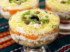 Сырный салат с печенью трески