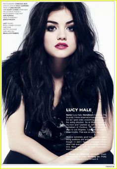 Lucy Hale from Pretty little liars <3 Gawjuss