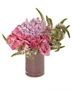 Fresh100.00Love & Lavender Roses - Arrangements - Los Angeles Florist tic-tock Couture Florals | Voted Best Florist in Los Angeles