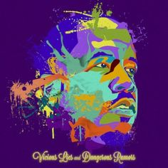 Vicious Lies and Dangerous Rumors will be Big Boi's second solo album. Featuring artists like Theophilus London, Little Dragon and Kelly Rowland, TI, and Ludacris. Kid Cudi, Kelly Rowland, Music Games, Rumours Album, Cool Album Covers, Big Boi, Hip Hop Albums, Rap Albums, Music Albums
