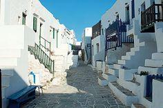 Chora, Folegandros, Cyclades Islands.