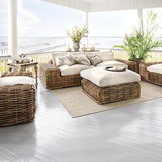"""Lanai Outdoor 115"""" Sofa"""