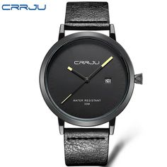 2016 CRRJU Men Watches Luxury Brand Casual Men Watches Analog Military Sports Watch Quartz Male Wristwatches Relogio Masculino #CLICK! #clothing, #shoes, #jewelry, #women, #men, #hats, #watches