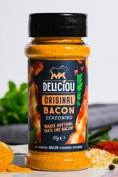 Deliciou's products makes plant-based cooking easy and delicious! Raw Vegan, Vegan Vegetarian, Vegetarian Recipes, Vegan Foods, Vegan Dishes, Bacon Seasoning, Whole Food Recipes, Cooking Recipes, Plant Based Eating