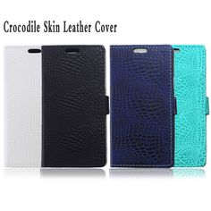 Luxury Crocodile Skin Leather Credit Card Flip Cover Case For Samsung Galaxy A8 SM-A800F A8000 Phone Bags Cases