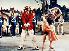 Leslie Caron & Gene Kelly - An American In Paris Gene Kelly, Orry Kelly, Paris Film, Paris Movie, Piano Jazz, Hooray For Hollywood, Old Hollywood, Hollywood Stars, Classic Hollywood