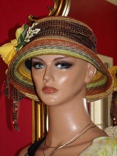Église de Derby Hat Tea Party Flapper chapeau par ludascrafts