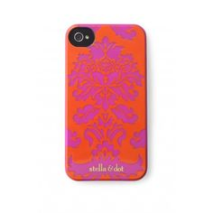 I LOVE Pink & Red!!!  Stella & Dot Signature iPhone case - Poppy http://www.stelladot.com/ts/a9bk5