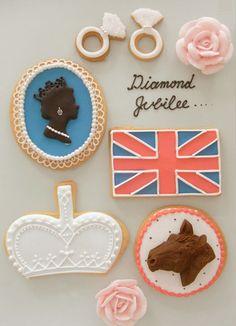 Thumb and Cakes Diamond Jubilee Sweets
