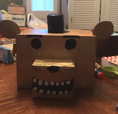 five nights at freddys valentines box i used a boot box pop tart box for