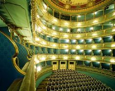 Estates Theatre, Prague - One of the Estates Theatre's many claims to glory is its strong link with Wolfgang Amadeus Mozart, who conducted the world premiere of his opera Don Giovanni here in October 1787.