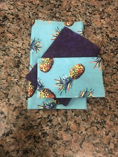 handmade beeswax food wraps and vegan food wraps Vegan Wraps, Beeswax Food Wrap, Purple Haze, Blue Polka Dots, Healthy Foods To Eat, Red And Blue, Food To Make, Zero Waste, Calgary